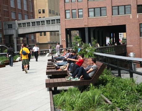 HighLine benches Image